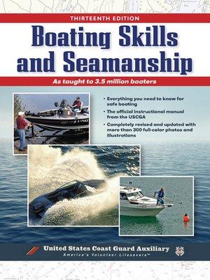 cover image of Boating Skills and Seamanship, BOOK