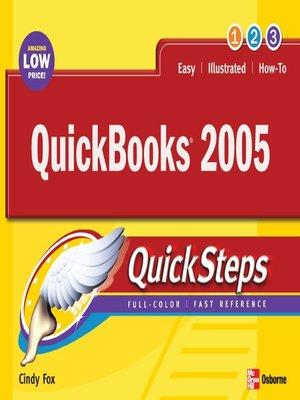 cover image of QuickBooks® 2005