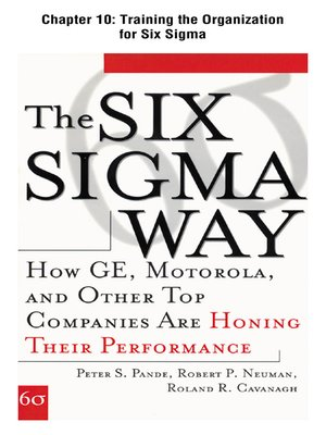 cover image of Training the Organization for Six Sigma