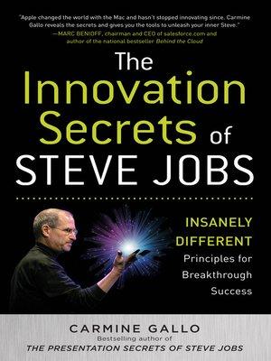 cover image of The Innovation Secrets of Steve Jobs