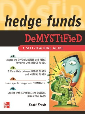 cover image of Hedge Funds Demystified