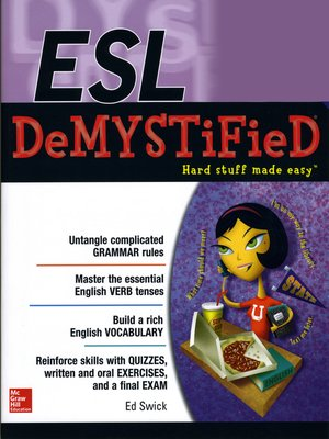 cover image of ESL DeMYSTiFieD