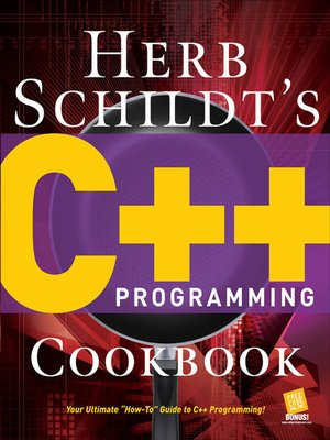 cover image of Herb Schildt's C++ Programming Cookbook