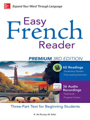 cover image of Easy French Reader Premium