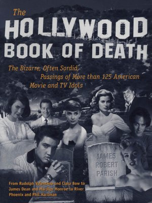 cover image of The Hollywood Book of Death