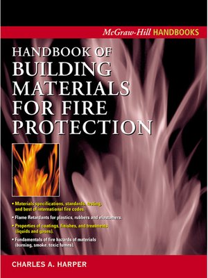 cover image of Handbook of Building Materials for Fire Protection