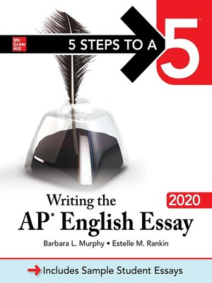 cover image of 5 Steps to a 5: Writing the AP English Essay 2020