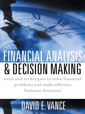 cover image of Financial Analysis & Decision Making