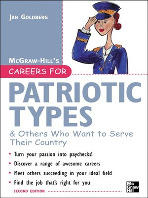 cover image of Careers for Patriotic Types & Others Who Want to Serve Their Country, Second ed.