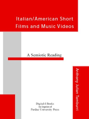 cover image of Italian/American Short Films and Videos: A Semiotic Approach