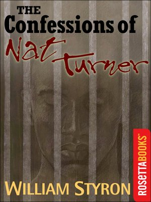 cover image of The Confessions of Nat Turner