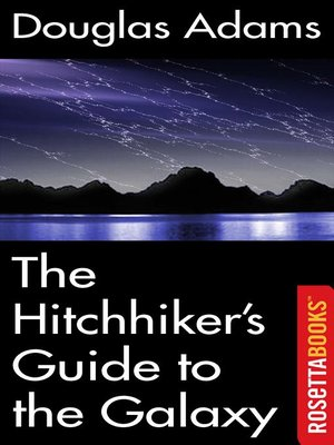 cover image of The Hitchhiker's Guide to the Galaxy