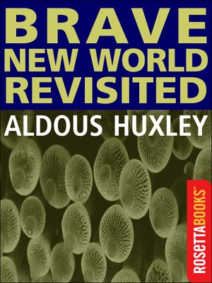 cover image of Brave New World Revisited