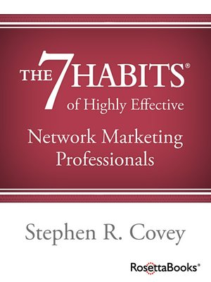 cover image of The 7 Habits of Highly Effective Network Marketing Professionals