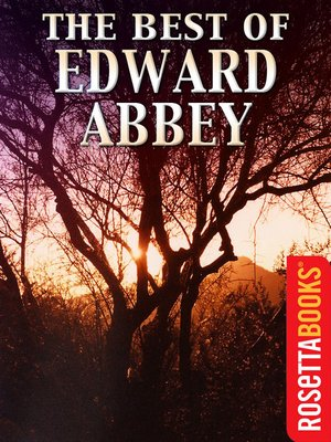 cover image of The Best of Edward Abbey