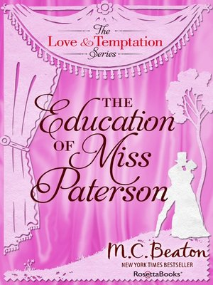 cover image of The Education of Miss Patterson