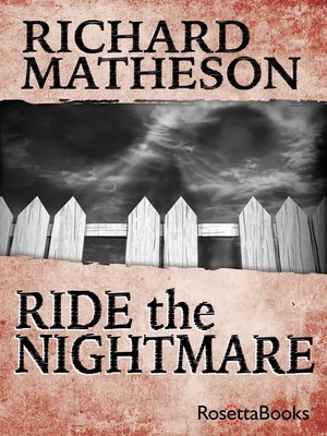cover image of Ride the Nightmare