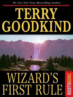 cover image of Wizard's First Rule