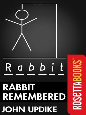 cover image of Rabbit Remembered