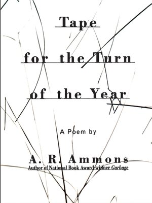 cover image of Tape for the Turn of the Year