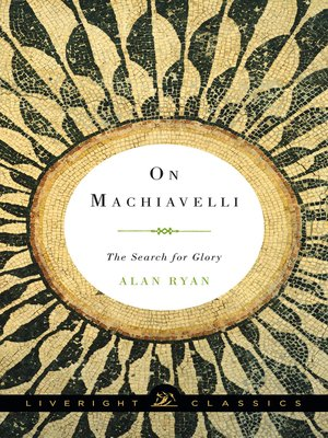 cover image of On Machiavelli