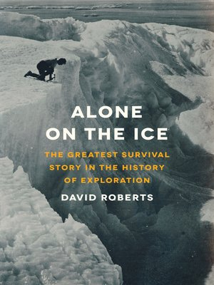 cover image of Alone on the Ice