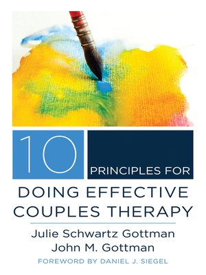 cover image of 10 Principles for Doing Effective Couples Therapy (Norton Series on Interpersonal Neurobiology)