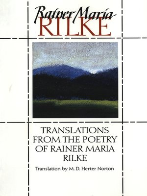 cover image of Translations from the Poetry of Rainer Maria Rilke