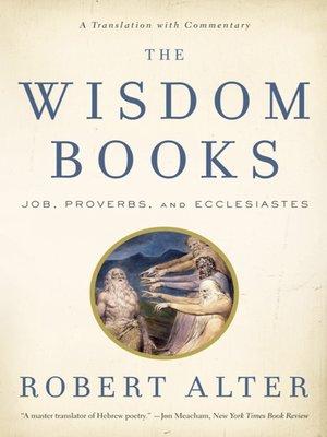 cover image of The Wisdom Books