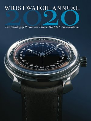 cover image of Wristwatch Annual 2020