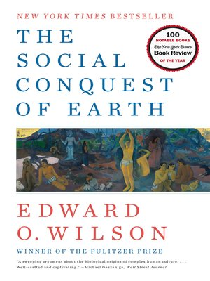 the social conquest of earth pdf
