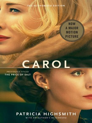 cover image of Carol (Movie Tie-in Edition)