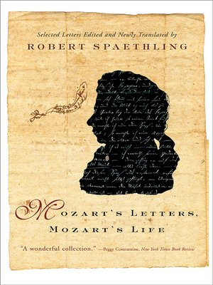 cover image of Mozart's Letters, Mozart's Life