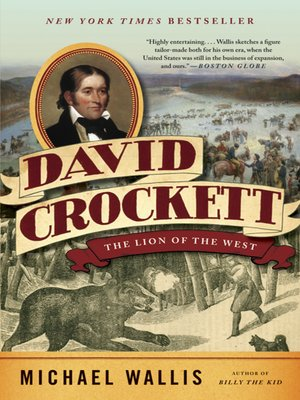 cover image of David Crockett