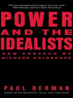 cover image of Power and the Idealists