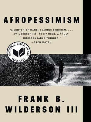 cover image of Afropessimism