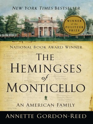 cover image of The Hemingses of Monticello