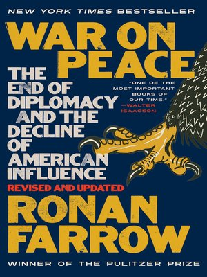 War on Peace by Ronan Farrow · OverDrive (Rakuten OverDrive