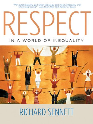 cover image of Respect in a World of Inequality
