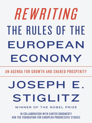 cover image of Rewriting the Rules of the European Economy