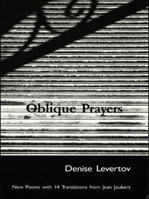cover image of Oblique Prayers