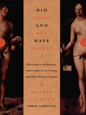 cover image of Did Adam and Eve Have Navels?