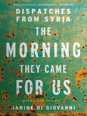 cover image of The Morning They Came for Us