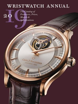 cover image of Wristwatch Annual 2019