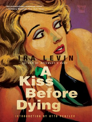 cover image of A Kiss Before Dying