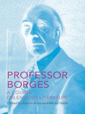 cover image of Professor Borges