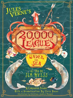cover image of Jules Verne's 20,000 Leagues Under the Sea