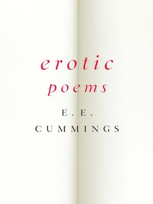 cover image of Erotic Poems