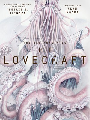 cover image of The New Annotated H. P. Lovecraft