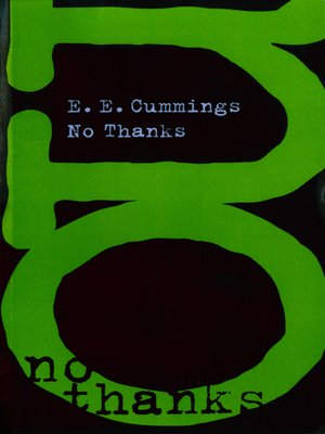 cover image of No Thanks